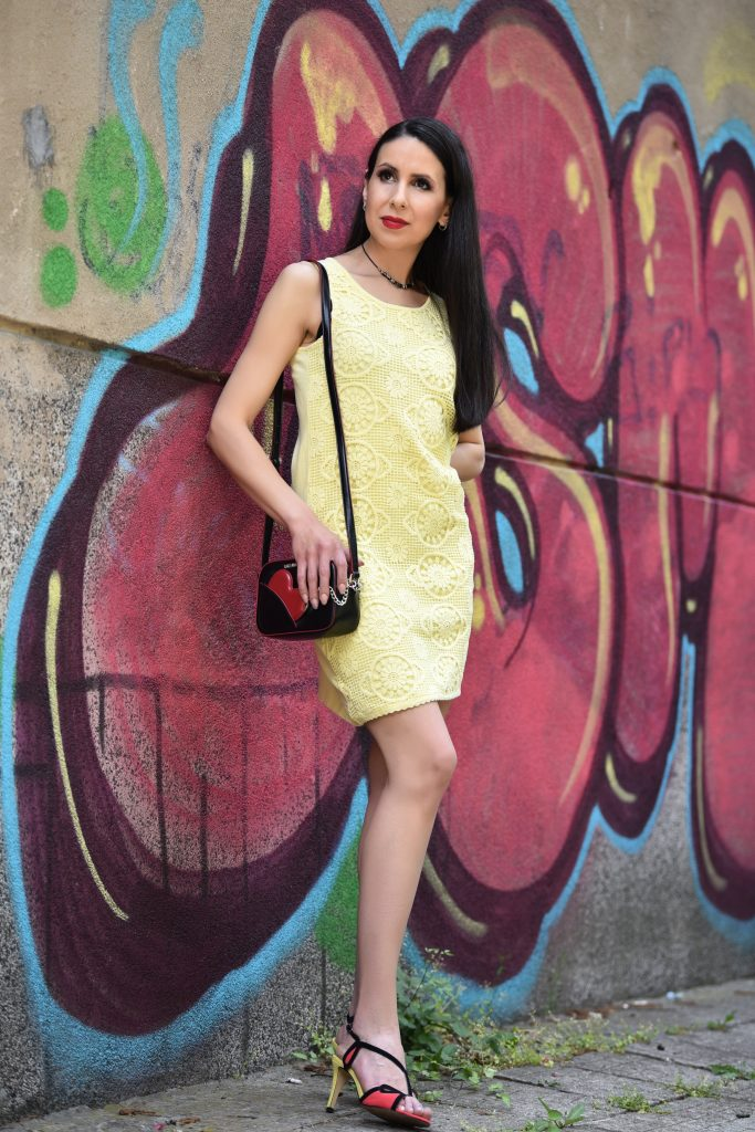 Fresh Lemon Yellow Dress